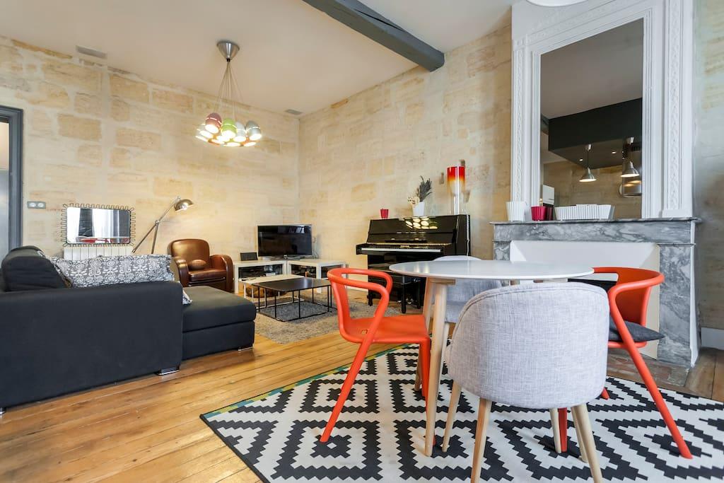 T3 sur les quais de bordeaux appartements louer for Recherche appartement sur bordeaux