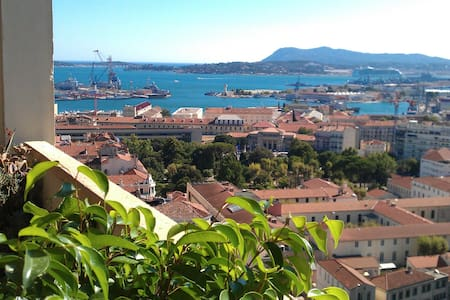 Quiet room with view - Toulon - Apartamento