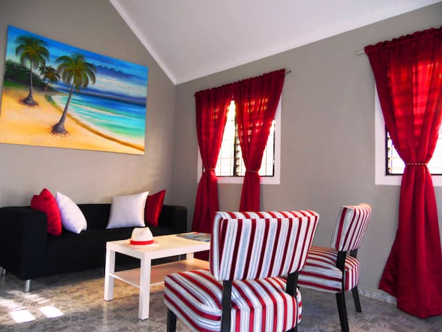 Private House Caraibes - Nagua - Casa