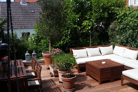Best terrace in nice house - Hørsholm