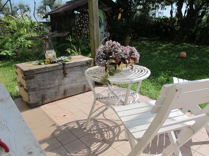 Villetta e giardino ottimo x famiglie pace e relax