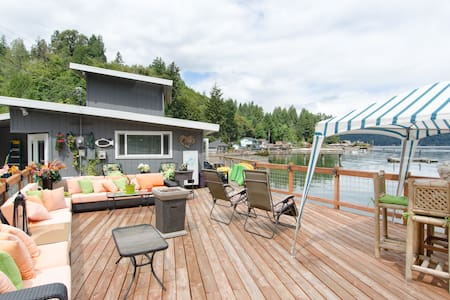 Hood canal  waterfront home. - Union - House