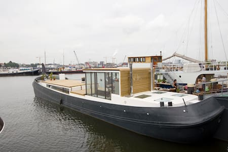 Experience a houseboat in Amsterdam - Amsterdam - Boot