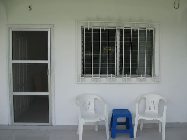 Front of the Apartment #5