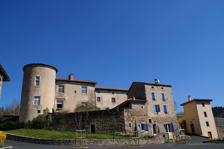 Château St Bonnet Appart propriétai - Saint-Bonnet-le-Chastel - Apartament