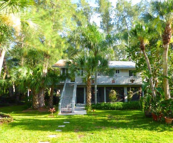 Coconut Palm Cottage, Tropical Island Oasis - Placida - House
