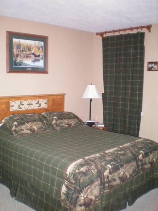 Moose Room- queen bed