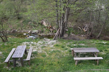 Mini appartamenti in riva al fiume monti SIBILLINI - Fonditore