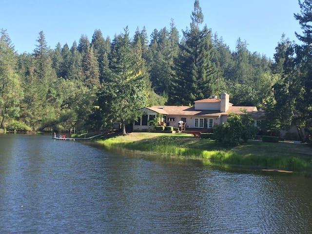 Wine Country Retreat w/Lake & Pool - Calistoga - Talo