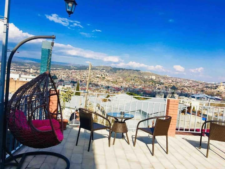 - 30% APARTMENT WITH TERRACE IN OLD TBILISI 3