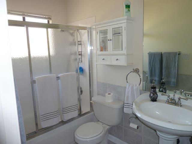 Clean private bathroom