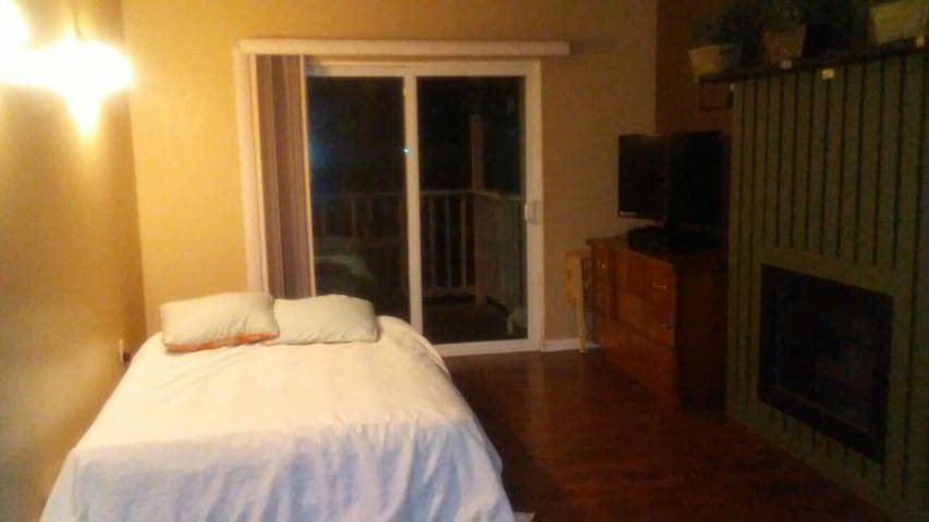Air mattress/front room - Millcreek - Appartement