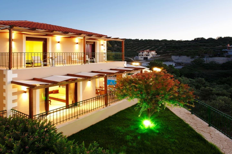 Bird eye view of Villa NewCrete