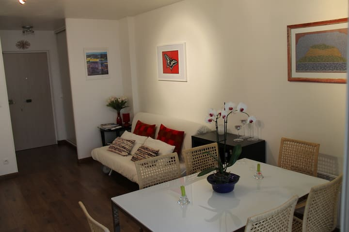 Cozy Apt in Epernay city center - Épernay - Daire