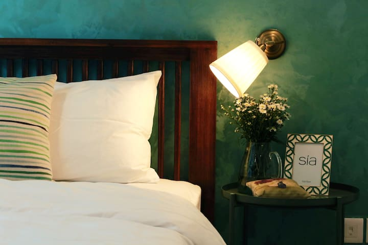 If restful sleep is what you have in mind, then dark green is what we have designed