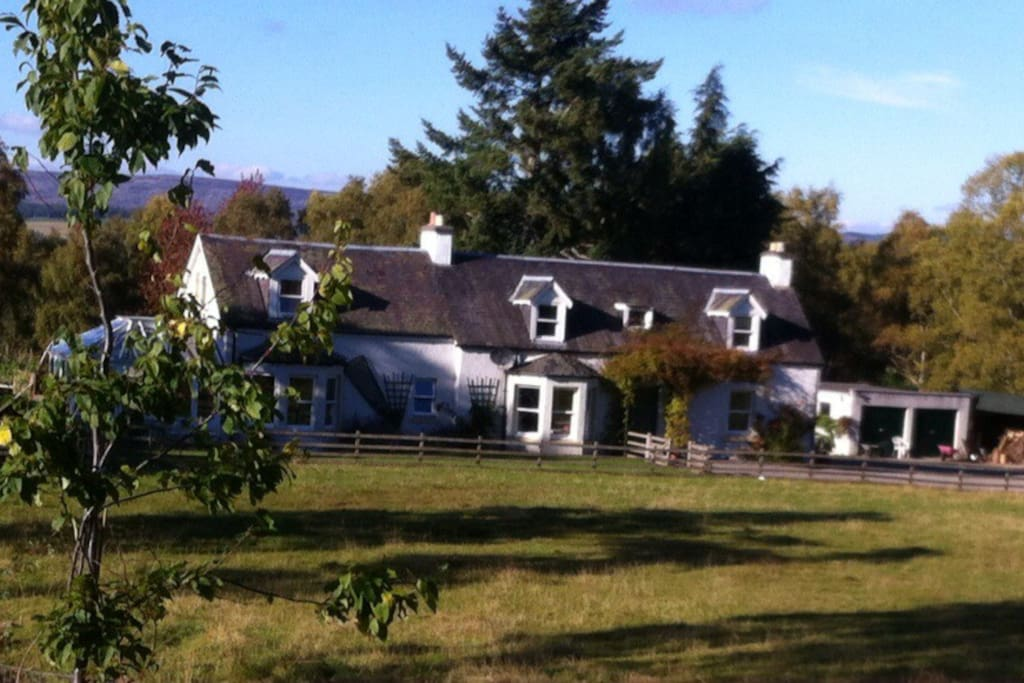 The house from up the field