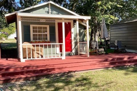 The Judge Roy Bean Cottage at Four Winds