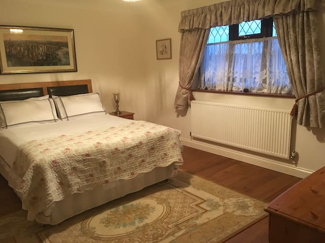 Large double and optional smaller double rooms