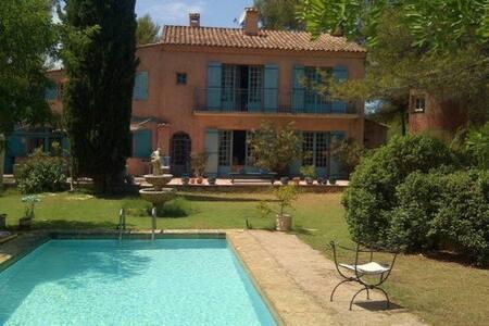 Belle villa provençale dans propriété 1 ha - Aix-en-Provence