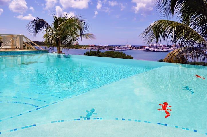Luxury Villa with Oceanview & Pool - Willemstad - Villa