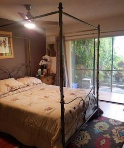 Cozy private room and bath in Boca Raton - Boca Raton - Villa