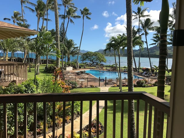 Kapaa Poolside/Oceanview Lae Nani Condo