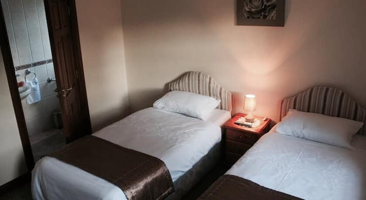 Brook lodge (twin room)
