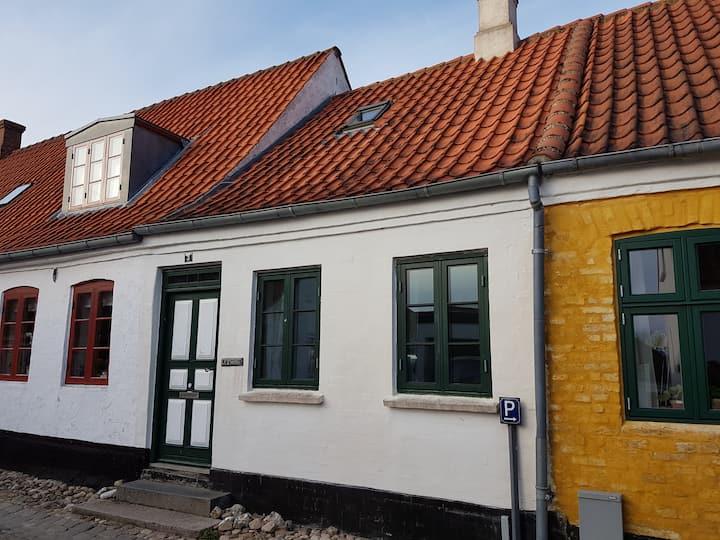 Byhus med udsigt til Ribe domkirke