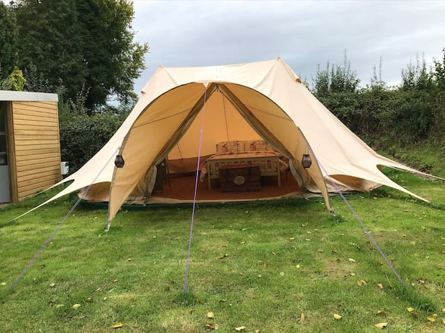 """Pheasant's Retreat"" Peaceful Glamping on Gower"