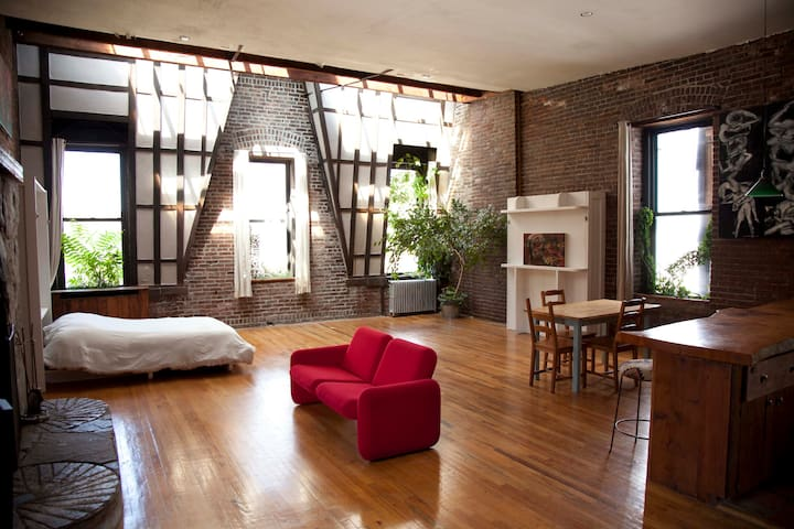 Historic penthouse apartment on Saint Marks Place