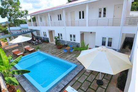 Orchid Guest House - Double Room - tp. Phú Quốc - Apartemen