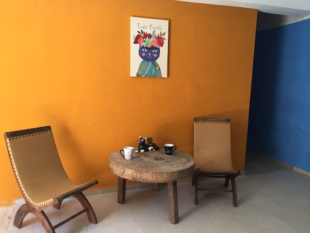 Apartment Los Gatitos (2 floor apt wA/C & WiFi) - Mérida - Apartamento