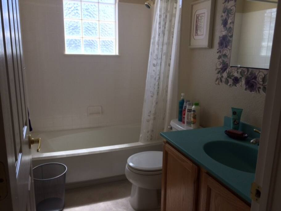 Private Bath off of bedroom