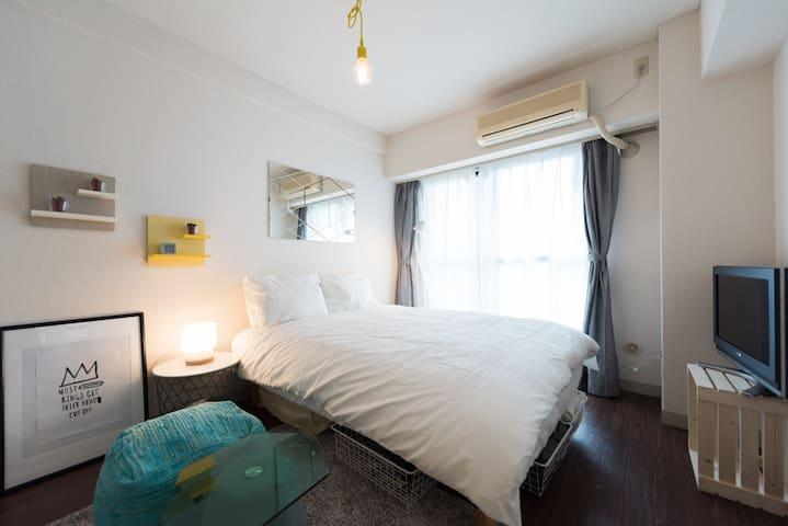 New30%OFF! Ikebukuro cozy apt with nice design TY1 - Toshima-ku - Daire
