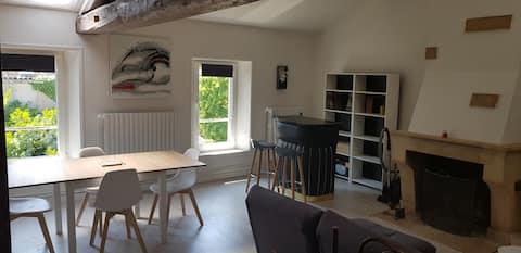 Charmant studio avec mezzanine centre ville verdun