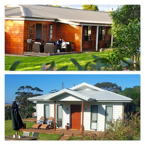 Two Houses (Side by Side) near Wilsons Promontory