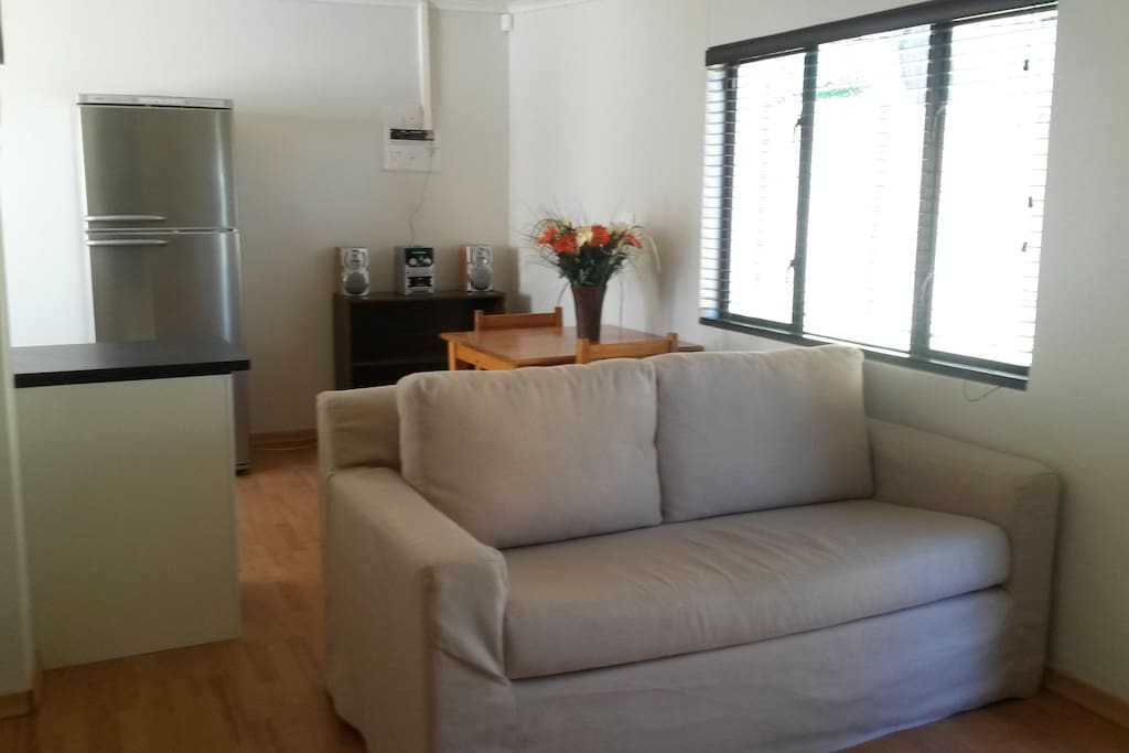 Open plan living area, kitchen, dining room and lounge