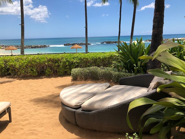 Your beachfront chaise and favorite cocktail await, come on over!