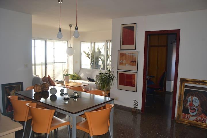 Apartamento de 100m en la playa - La Pobla de Farnals - Kondominium