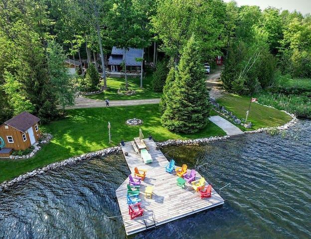 Shepard Lake - private lake paradise !