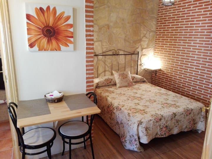 Apartamento rural para 2 personas cerca de Ávila