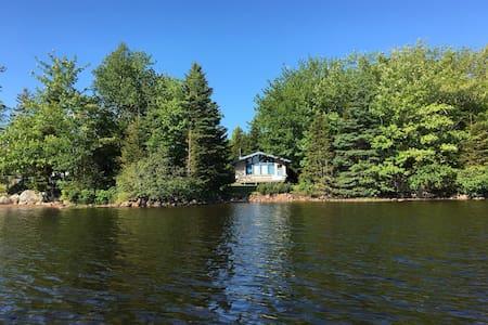 Cottage on Petpeswick Lake in Nova Scotia