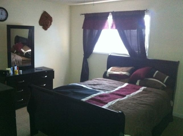 FEMALES ONLY .Beautifully furnished room w/bath