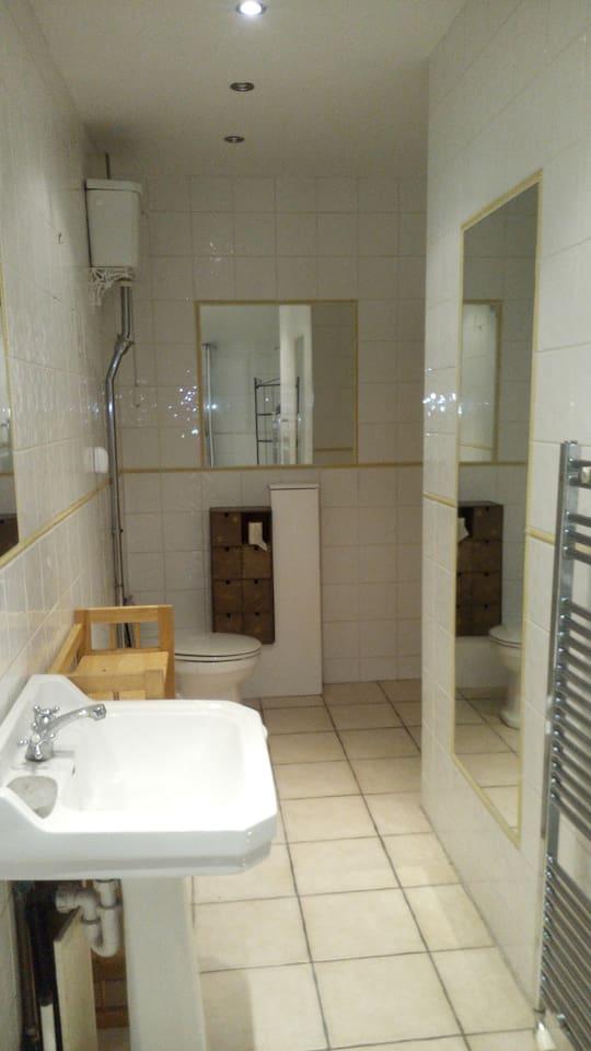 Spacious double en-suite close to central London