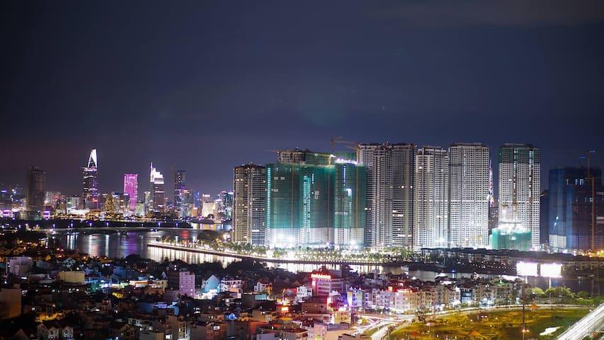 Masteri Thao Dien apartment, Ho Chi Minh - Ho-Chi-Minh-Stadt - Wohnung