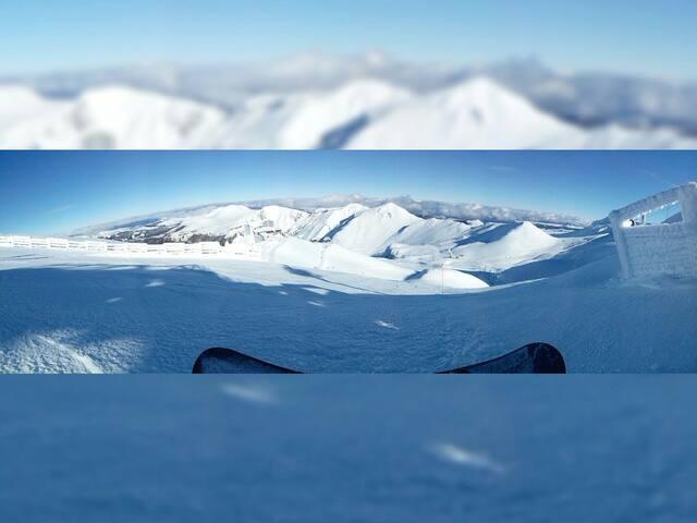 Ideal ski, trekking, 2 pers., Mont-Dore@25mn