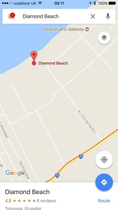 El departamento se encuentra en Las Torres Iguazú, al lado de Diamond Beach