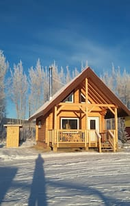 Rustic Cabin on farm