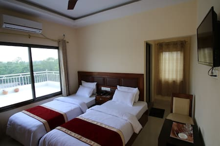 Hotel Suramma,  Lumbini AC Room BB Plan 2 person