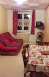 petit studio agréable situé au centre du village - Prémanon - Flat